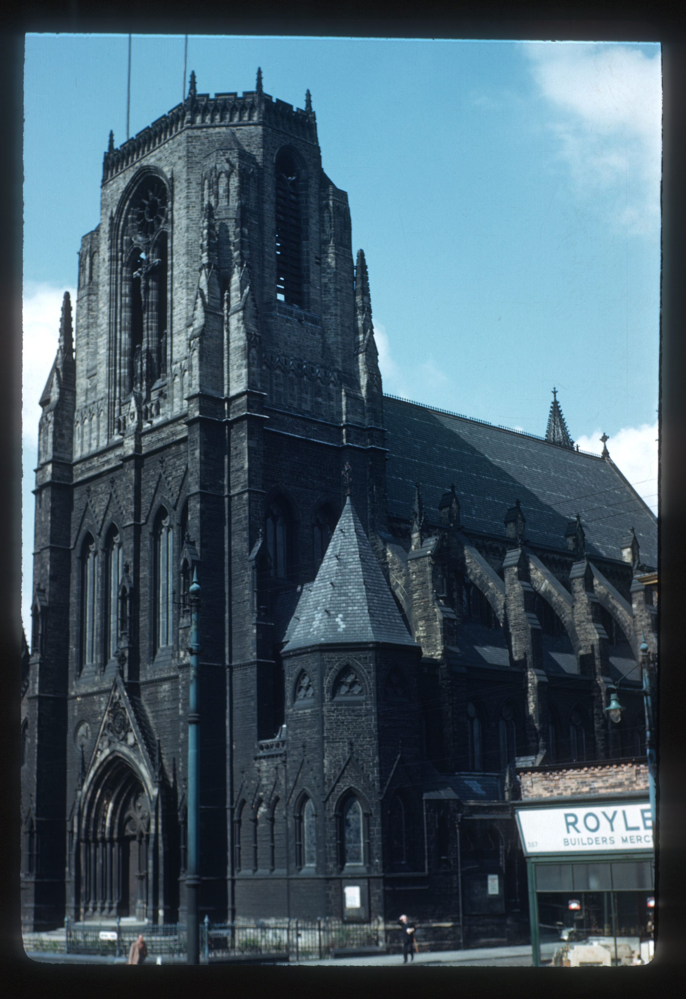 Photograph of Holy Name Church in Manchester