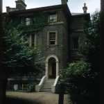Photograph of house at 9 Oak Hill Park, Hampstead