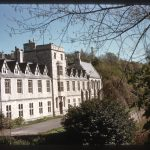 photograph of front side of St. Beuno's building