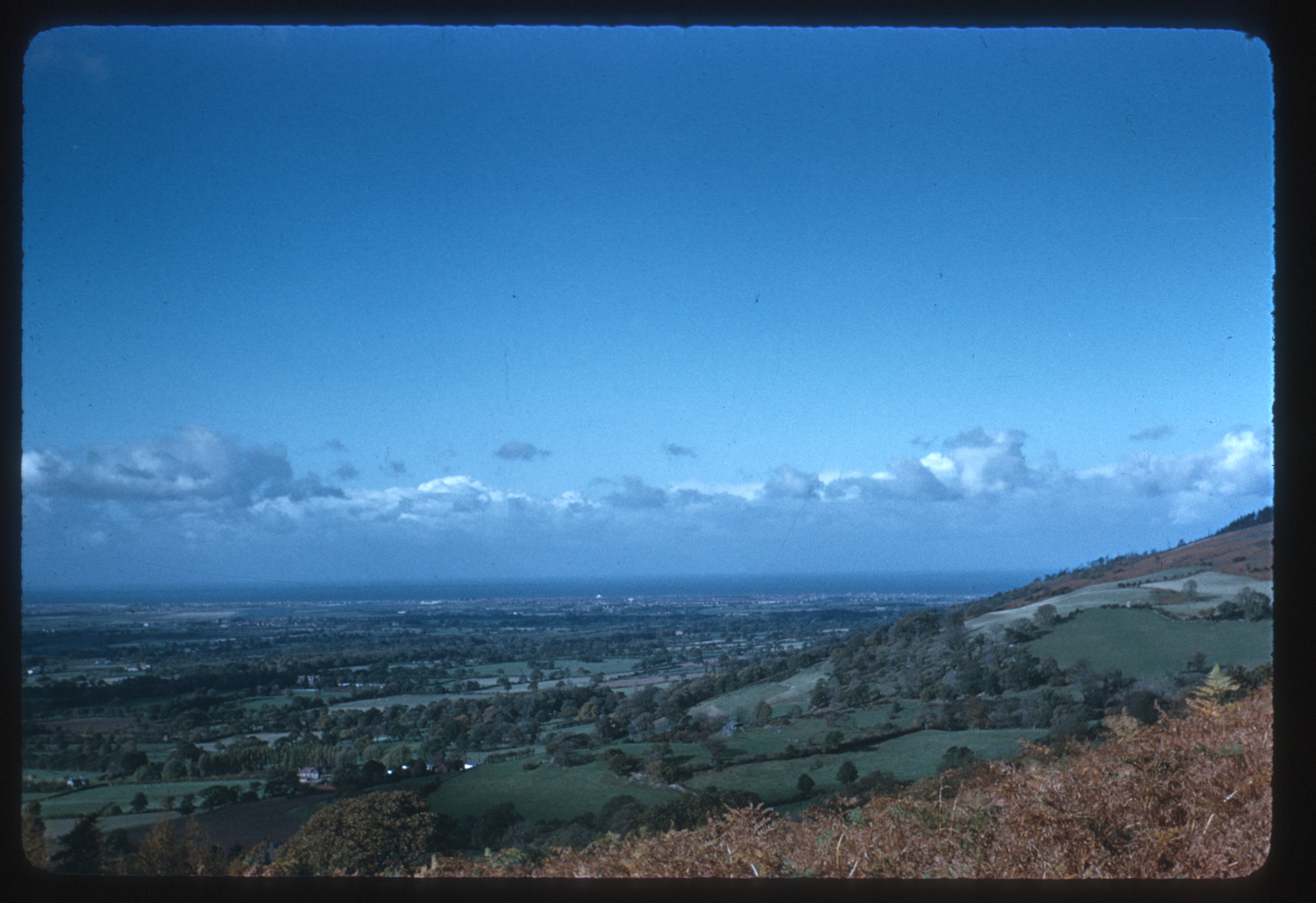 Photograph: Irish Sea, from St. Beuno's